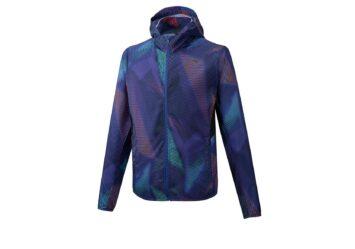 Ветровка Mizuno Printed Hoodie Jacket J2GE0021-29 #2