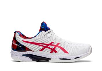 Кроссовки ASICS SOLUTION SPEED FF 2 L.A. CLAY 1041A286-110 #1
