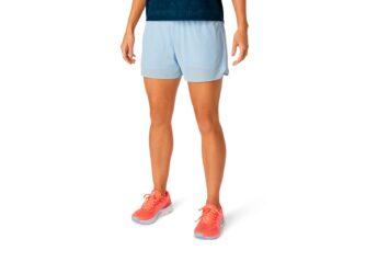 Шорты беговые женские ASICS VENTILATE 2-N-1 3.5IN SHORT 2012A772-402 #1