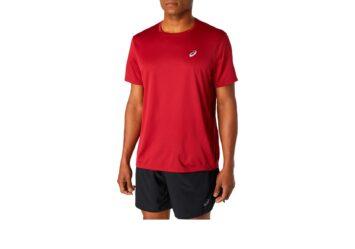 Мужская беговая футболка ASICS KATAKANA SS TOP 2011A813 602 #1