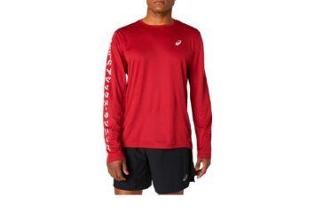 Мужская беговая рубашка ASICS KATAKANA LS TOP 2011A818 600 #5