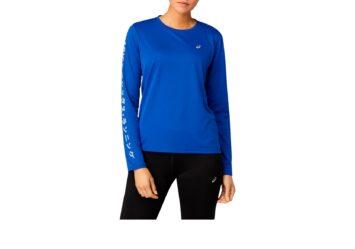 Женская беговая рубашка ASICS KATAKANA LS TOP W 2012A819 403 #1