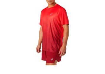Мужская беговая футболка ASICS KASANE SS TOP 2011C014 601 #3