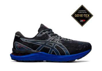 Мужские непромокаемые кроссовки для бега GEL-CUMULUS 23 Gore-Tex 1011B257-001 #1