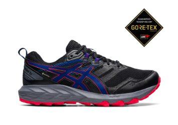 Мужские непромокаемые кроссовки для бега ASICS GEL-SONOMA 6 1011B048 010 #1