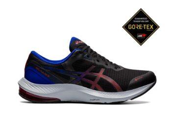 Мужские непромокаемые кроссовки для бега ASICS GEL-PULSE 13 GTX 1011B178 001#1